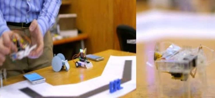 robots building robots