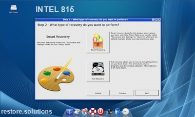 INTEL 815 data restore cd