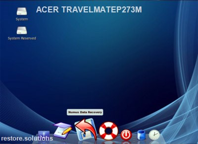 Acer® TravelMate P273 M data recovery boot disk