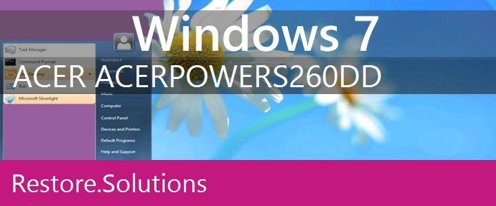 Acer AcerPower S260 Windows 7