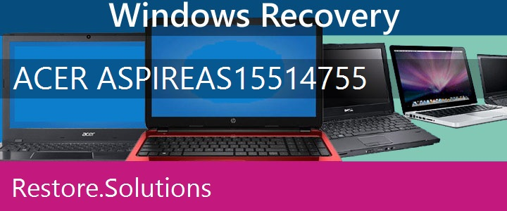 Acer Aspire AS1551-4755 Netbook recovery