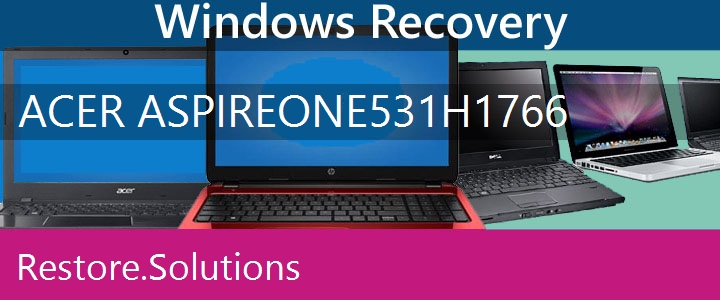 Acer Aspire One 531h-1766 Netbook recovery