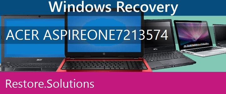 Acer Aspire ONE 721-3574 Netbook recovery