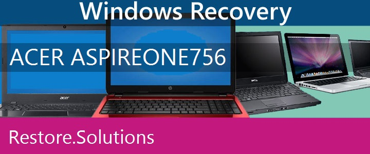 Acer Aspire One 756 Netbook recovery