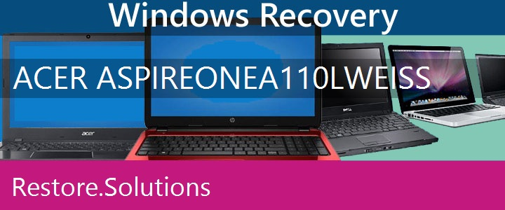 Acer Aspire One A110L weiss Netbook recovery