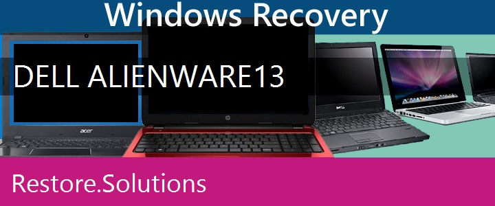 Dell Alienware 13 Laptop recovery