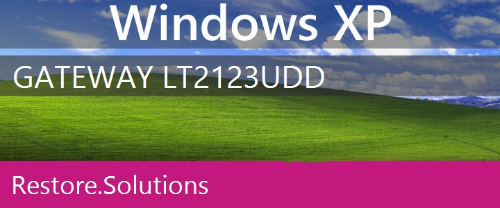 Gateway LT2123u Windows XP