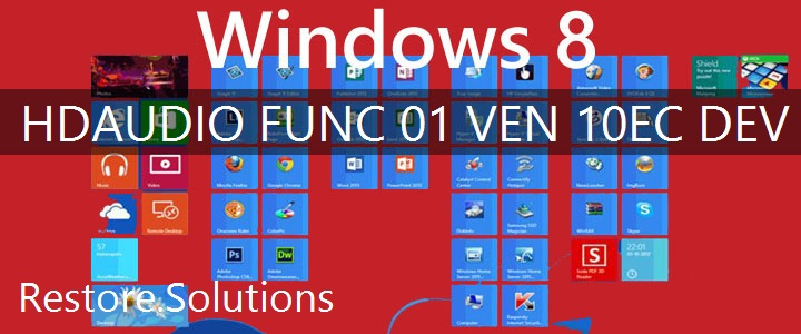 HDAUDIO\FUNC_01&VEN_10EC&DEV_0668 Windows 8 Drivers