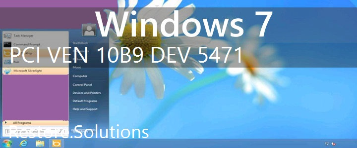 PCI\VEN_10B9&DEV_5471 Windows 7 Drivers