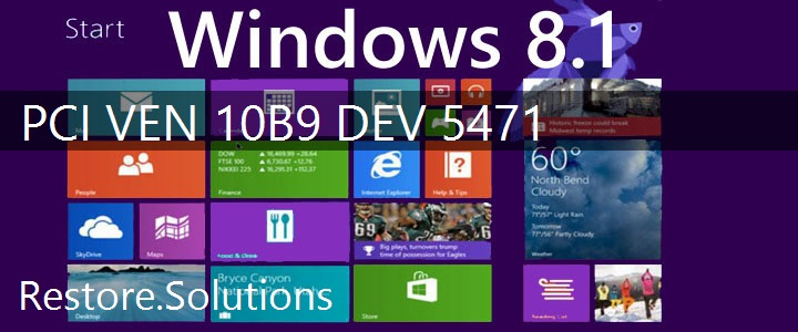 PCI\VEN_10B9&DEV_5471 Windows 8.1 Drivers