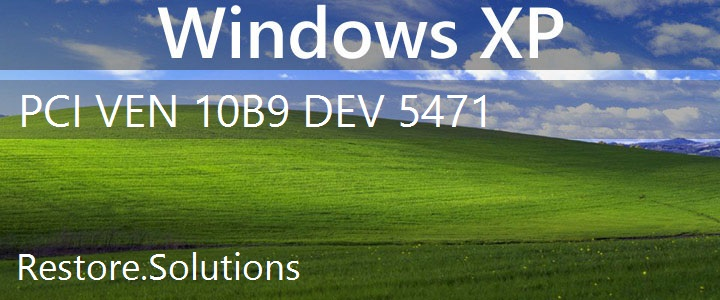 PCI\VEN_10B9&DEV_5471 Windows XP Drivers