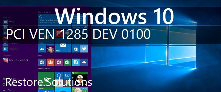 PCI\VEN_1285&DEV_0100 Windows 10 Drivers