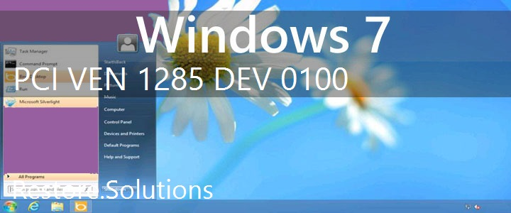 PCI\VEN_1285&DEV_0100 Windows 7 Drivers