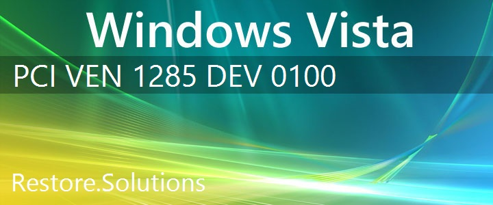 PCI\VEN_1285&DEV_0100 Windows Vista Drivers