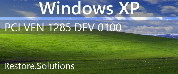 PCI\VEN_1285&DEV_0100 Windows XP Drivers