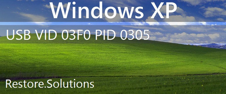 USB\VID_03F0&PID_0305 Windows XP Drivers