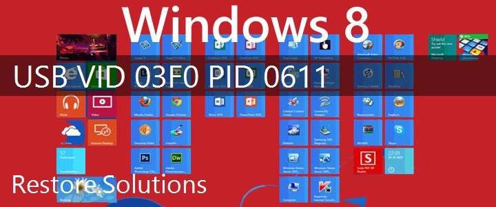 USB\VID_03F0&PID_0611 Windows 8 Drivers