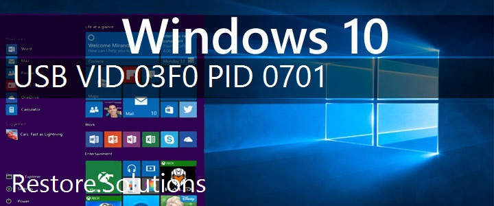 USB\VID_03F0&PID_0701 Windows 10 Drivers