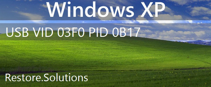 USB\VID_03F0&PID_0B17 Windows XP Drivers