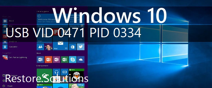 USB\VID_0471&PID_0334 Windows 10 Drivers