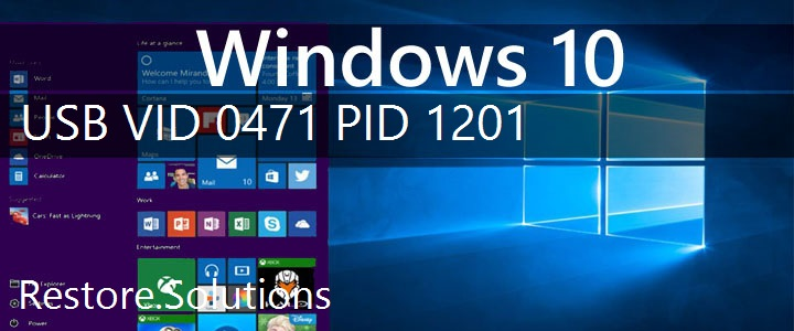 USB\VID_0471&PID_1201 Windows 10 Drivers