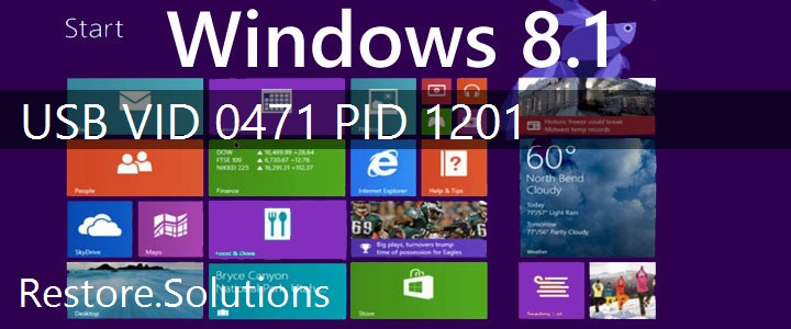 USB\VID_0471&PID_1201 Windows 8.1 Drivers