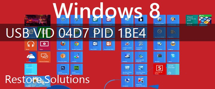 USB\VID_04D7&PID_1BE4 Windows 8 Drivers