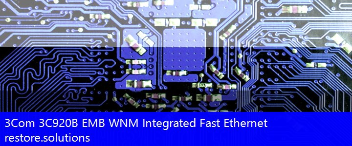 3Com 3C920B EMB WNM Integrated Fast Ethernet