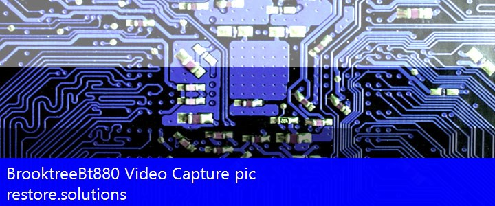 Brooktree Bt880 Video Capture Chipset Driver