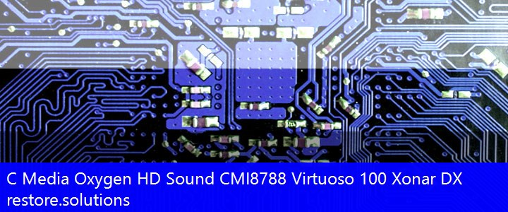 C Media® Oxygen HD Sound CMI8788 Multimedia PCI\VEN_13F6&DEV_8788 Drivers