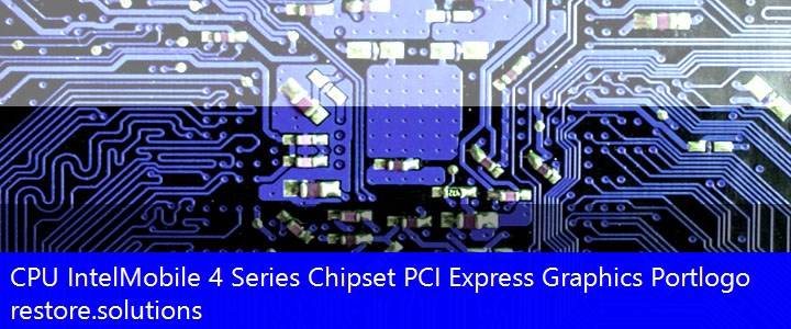 Intel Mobile 4 Series Chipset PCI Express Graphics Port