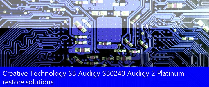 Creative Technology® SB Audigy Multimedia PCI\VEN_1102&DEV_0004 Drivers