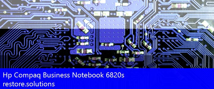 Hp Compaq® Business Notebook 6820s ISO