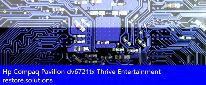 Hp Compaq® Pavilion dv6721tx Thrive Entertainment ISO