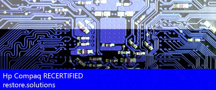 Hp Compaq® RECERTIFIED ISO