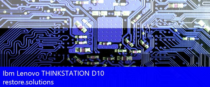 Ibm Lenovo® THINKSTATION D10 ISO