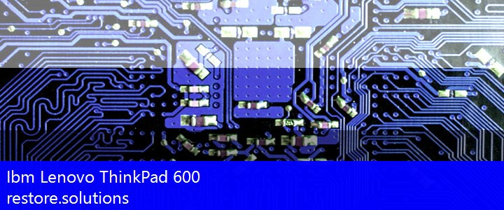 Ibm Lenovo® ThinkPad 600 ISO