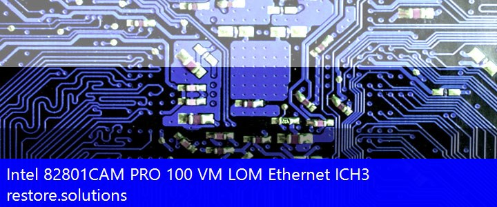 Intel® 82801CAM PRO 100 VM LOM Ethernet ICH3 Network PCI\VEN_8086&DEV_1033 Drivers