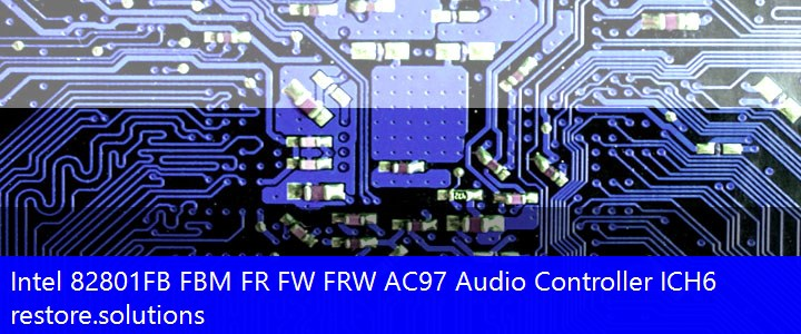 Intel® 82801FB FBM FR FW FRW AC97 Audio Controller ICH6 Multimedia PCI\VEN_8086&DEV_266E Drivers