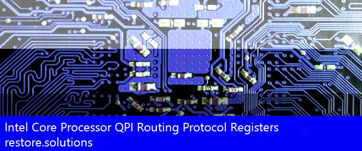 Intel® Core Processor QPI Routing Protocol Registers System PCI\VEN_8086&DEV_D151 Drivers