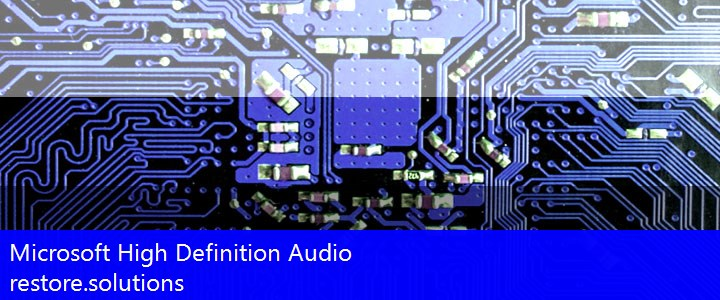 Microsoft® High Definition Audio HD Audio HDAUDIO\FUNC_01&VEN_8384&DEV_76A0 Drivers