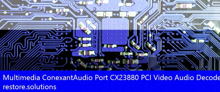 Conexant Audio Port (CX23880 PCI Video Audio Decoder)