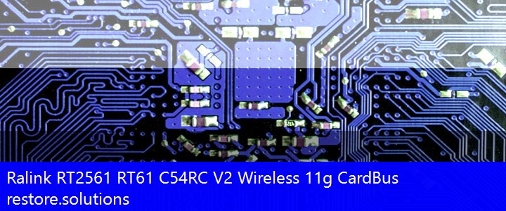 Ralink RT2561 RT61 C54RC V2 Wireless 11g CardBus