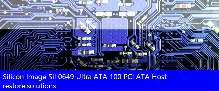 Silicon Image SiI 0649 Ultra ATA 100 PCI ATA Host