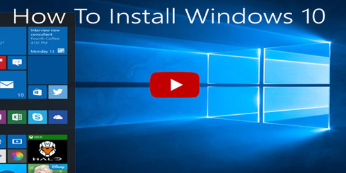 Windows® 10 factory reset