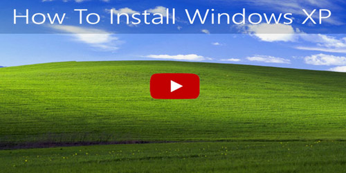 Windows® XP factory reset