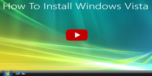 Windows® Vista factory reset