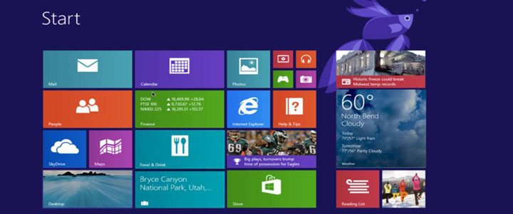 Standard Windows® 8.1 Desktop