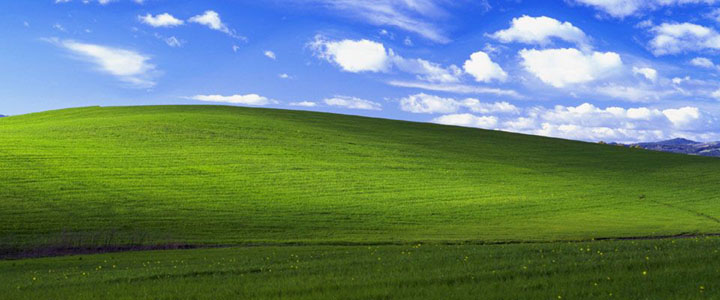 Black Windows® XP Desktop