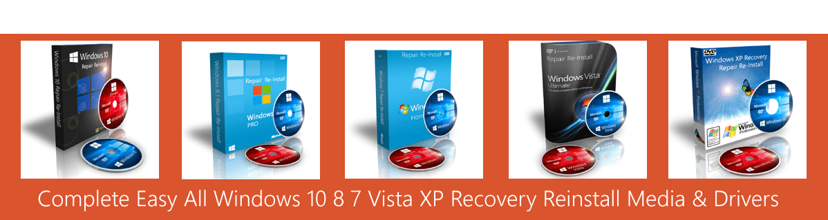 all windows recovery media